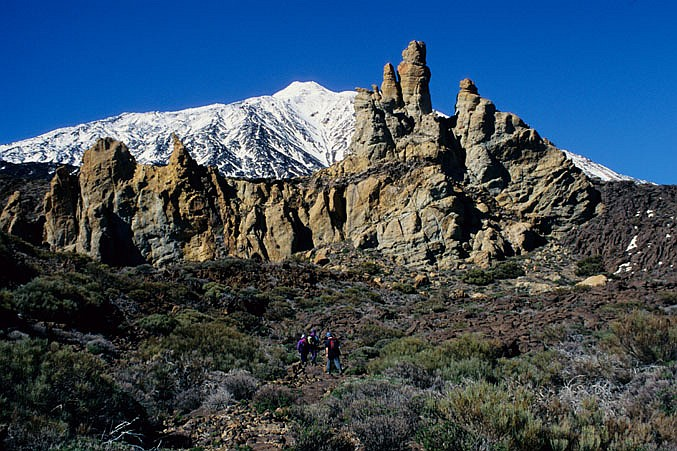Pico de Teide 3718 m